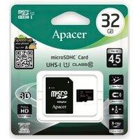 Карта памяти Apacer microSDHC 32GB Class 10 UHS-I