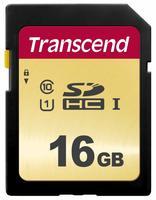 Карта памяти TRANSCEND SDHC 16GB Class 10 UHS-I U3 R95/W60MB/s (TS16GSDC500S)
