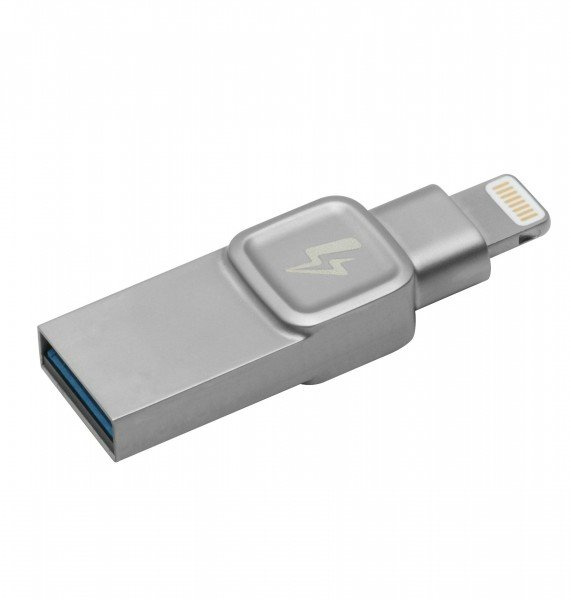 Купить Накопитель Kingston DataTraveller Bolt Duo 128ГБ USB 3.1 Gen.1 /Lightning Apple