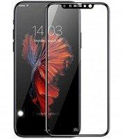 Стекло Baseus для iPhone X/Xs 0.3mm Silk-screen All-screen&Anti-bluelight Film Black