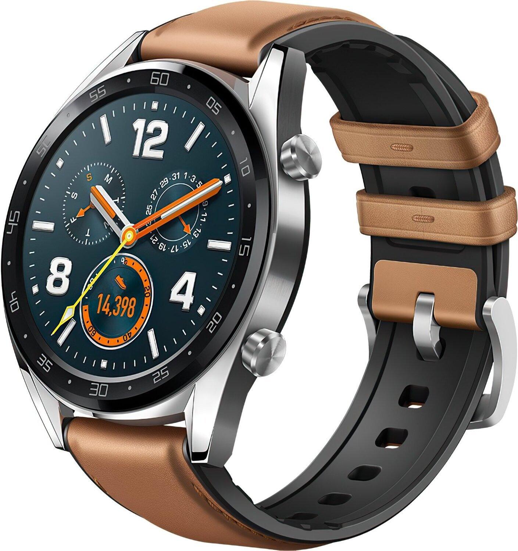 b0eaf7d5ee93e ≡ Смарт-часы Huawei Watch GT Silver (55023257) – купить в Киеве ...