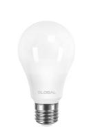 Светодиодная лампа GLOBAL A60 12W яркий свет 220V E27 AL (1-GBL-266)