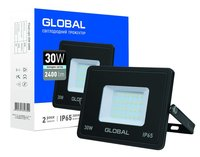 Прожектор LED GLOBAL FLOOD LIGHT 30W 6000K (1-GLB-02-LFL-3060)