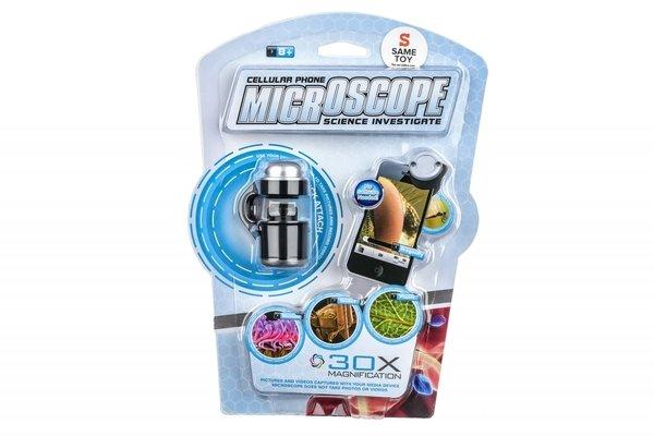 Мини микроскоп Same Toy для телефонов с 30-кратным увеличением (605Ut)