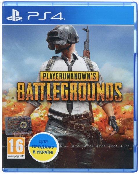 Купить Игра Playerunknown's Battlegrounds (PS4, Русская версия), Games
