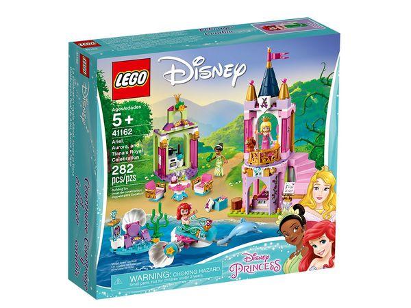 Купить Конструктор LEGO Disney Princess Королевское праздник Ариэль, Авроры и Тианы (41162)