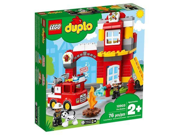 Купить Конструктор LEGO Duplo Городок Пожарное депо (10903)