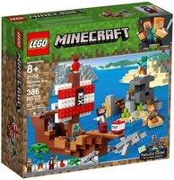 Конструктор LEGO Minecraft Приключения на пиратском корабле (21152)