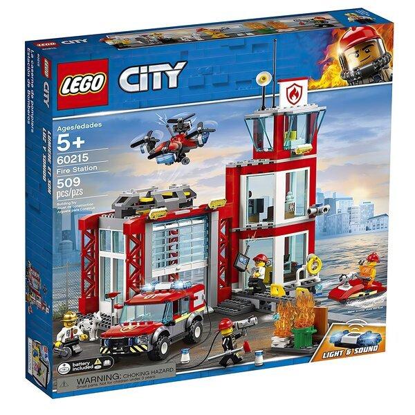 Купить Конструкторы, Конструктор LEGO City Пожарное депо (60215 L)