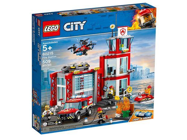 Купить Конструктор LEGO City Пожарное депо (60215 L)