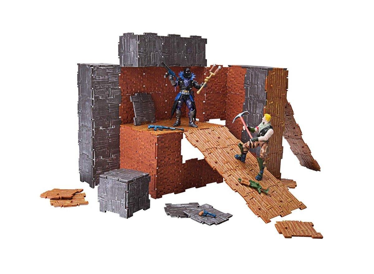 Игровая коллекционная фигурка Fortnite Turbo Builder Set Jonesy and Raven, набор (FNT0036) фото