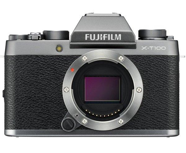 Купить Фотоаппарат FUJIFILM X-T100 body Dark Silver (16582050)