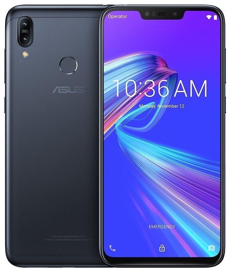 Смартфон Asus ZenFone Max (M2) 4/32G (ZB633KL-4A070EU) Black фото 1