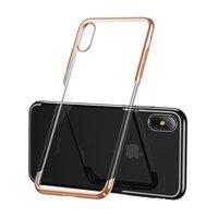 Чехол Baseus для iPhone XS/X Glitter Gold