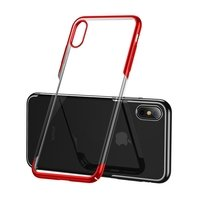 Чехол Baseus для iPhone XS/X Glitter Red