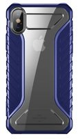 Чехол Baseus для iPhone XS/X Michelin Blue