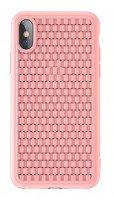 Чехол Baseus для iPhone XS Max BV Case Pink