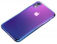 Чехол Baseus для iPhone XR Glow TR Black