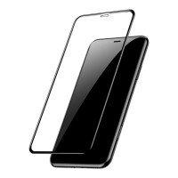 Стекло Baseus для iPhone XR 0.3mm Full Cover curved Black