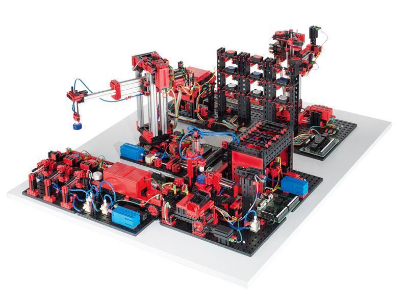 Конструктор fisсhertechnik Trainingsmodelle Готовый макет производства 24В FT-536634 фото 1