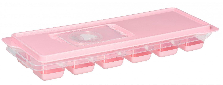 Форма для льда Ardesto Fresh розовая с крышкой (AR1101PP) фото 1