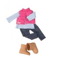 Набор одежды для кукол Our Generation Жилет с брюками (BD30209Z)