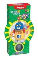 Масса для лепки Paulinda Robot желтый, заводной механизм, шагает (PL-081178-2)