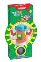 Масса для лепки Paulinda Robot оранжевый, заводной механизм, шагает (PL-081178-3)