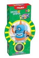 Масса для лепки Paulinda Robot голубой, заводной механизм, шагает (PL-081178-6)