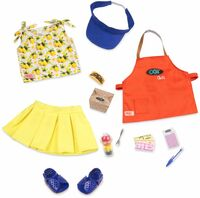 Набор одежды для кукол Our Generation Deluxe Повар-гриль (BD30378Z)