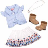 Набір одягу для ляльок Our Generation для ранчо (BD30359Z)