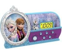 Часы настольные eKids, Disney, Frozen, с ночником (FR-346.02FM)