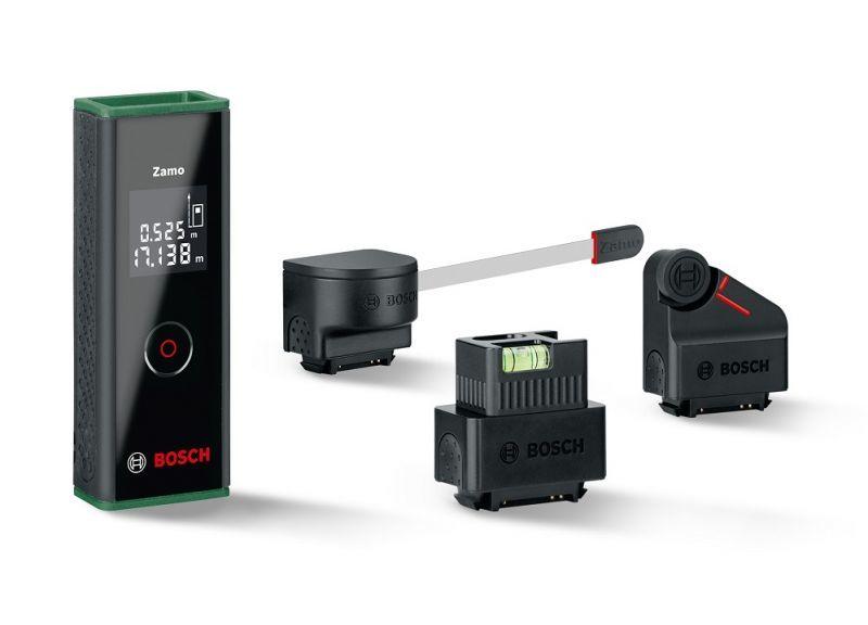 Дальномер лазерный Bosch Zamo III SET фото