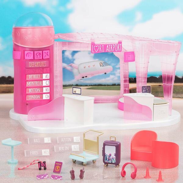 Купить Игровой набор LORI Аэропорт (LO37054Z)