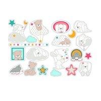Декоративные стикери Nattou Мия и Базиль (562287)