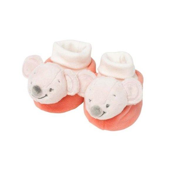 Купить Nattou Пинетки мышка Валентина (424295)