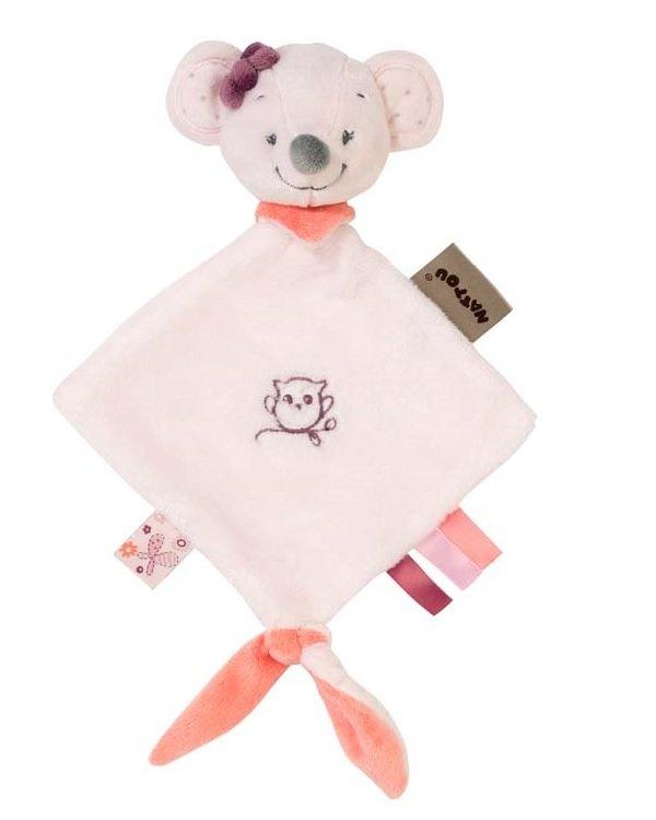 Мягкая игрушка Nattou маленькая Doodoo мышка Валентина (424134) фото 1