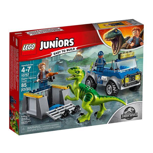 ≡ <b>Конструктор LEGO Juniors</b> Спасательный грузовик раптора ...