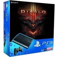 Игровая приставка SONY PlayStation 3 500Gb Super Slim + Diablo III