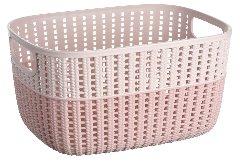 Корзинка плетеная Ardesto Sweet Home розовая 6,8 л (AR1768BP) фото 1