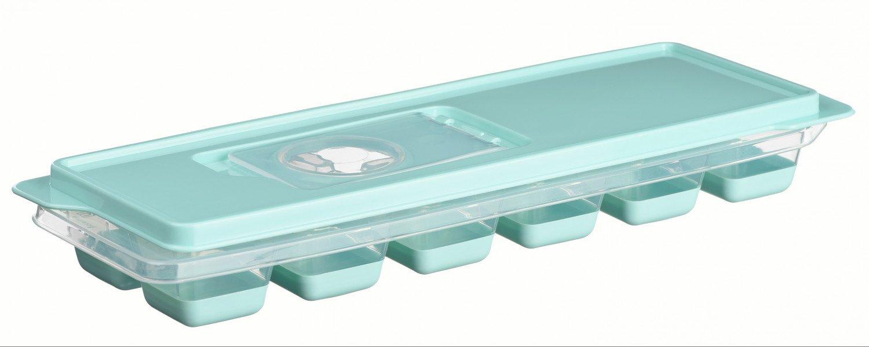 Форма для льоду Ardesto Fresh блакитна з кришкою (AR1101TP) фото