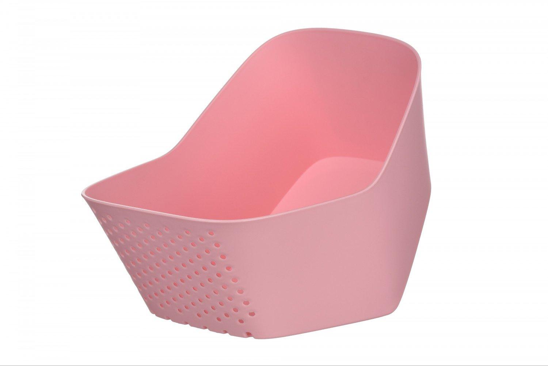 Миска з ситом Ardesto Fresh рожева (AR1601PP) фото1