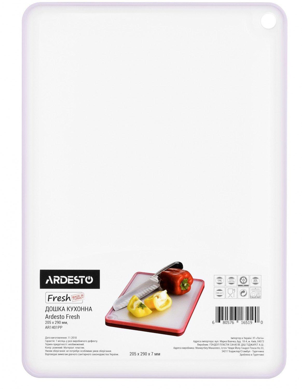 Доска кухонная Ardesto Fresh лиловая 205х290 мм (AR1401LP) фото 1