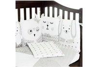 Комплект постельного белья VERES SMILING ANIMALS бело-серый 6 единиц (216.07)