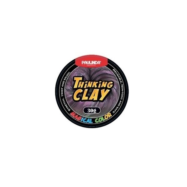 Купить Умный пластилин Paulinda Thinking Clay Magical фиолетовый 30 грамм (PL-171005-TCMC-05)