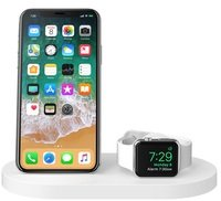 Док-станция BELKIN Qi Wireless iWatch( 1A) + iPhone (7.5W) + USB A 5W/1A Wh