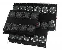 Вент. панель MIRSAN 4 вент., термостат в компл. RAL 9005 (MR.FAN4AT.01)
