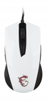 Ігрова миша MSI Clutch GM40 White GAMING Mouse (S12-0401370-D22)