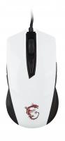 Игровая мышь MSI Clutch GM40 White GAMING Mouse (S12-0401370-D22)