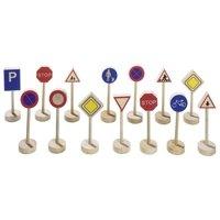 Игровой набор goki Дорожные знаки (WM397)